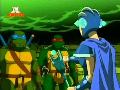 """TMNT PL Wojownicze Zółwie Ninja 2003 - """"Kaszana z czasem"""" -  S03E17"""