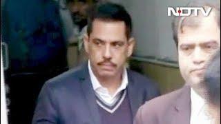 रॉबर्ट वाड्रा की अंतरिम जमानत 2 मार्च तक बढ़ी - NDTVINDIA