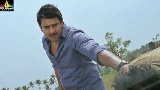 Mirchi Movie Scenes | Prabhas Warning to Sampath | Anushka, Richa | Sri Balaji Video - SRIBALAJIMOVIES