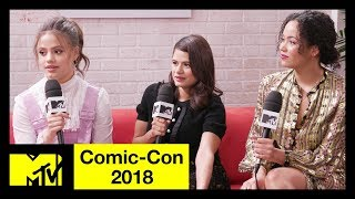 'Charmed' Reboot Cast on Honoring the Original Series | Comic-Con 2018 | MTV - MTV