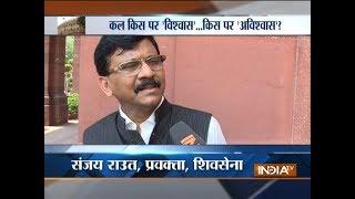 Shiv Sena will decide its course of action tomorrow, says Sanjay Raut - INDIATV