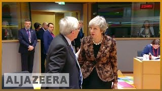 🇬🇧Brexit: May rebuffed by EU leaders in Brussels l Al Jazeera English - ALJAZEERAENGLISH