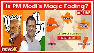 Catch all the latest Assembly Election Result 2018| Rajasthan, MP, Chhattisgarh, Mizoram & Telangana - NEWSXLIVE