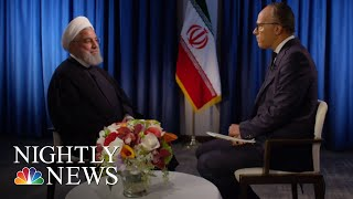 Extended Interview: Iranian President Hassan Rouhani | NBC Nightly News - NBCNEWS