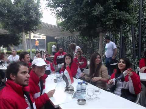 شباب و صبايا سوريا و الروح الرياضية - Beautiful young Syria 2013