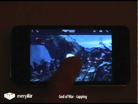 everyAir - play PS3 games on any iOS device (iPhone, iPad, iPod)