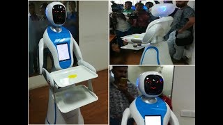 Watch: Robots to be servers at Gujarat Science City from January onward as part of Robotics Gallery - TIMESOFINDIACHANNEL