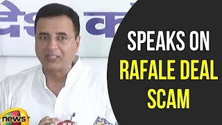 Randeep Singh Surjewala on Rafale Deal Scam | Randeep Singh on Modi Government | Mango News - MANGONEWS
