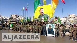 Turkey worried over growing Kurdish influence in Syria after Raqqa's capture - ALJAZEERAENGLISH