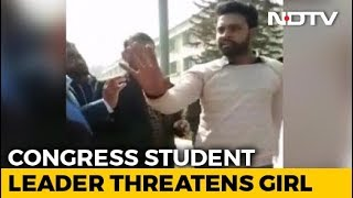 """""""Better Behave"""": Congress Student Leader To Teen Who Alleged Molestation - NDTV"""