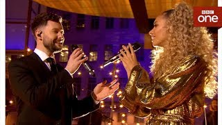 Calum Scott and Leona Lewis perform 'You Are The Reason' - The One Show - BBC One - BBC