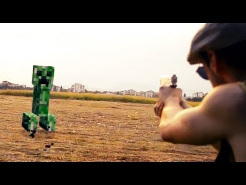 Minecraft in Real Life The