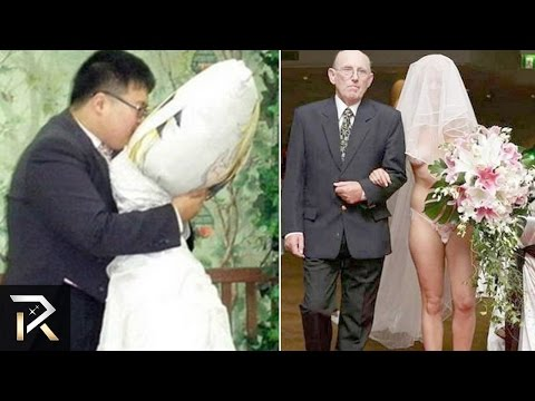 top 10 strangest weddings in the world