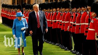 Trump says Queen Elizabeth is 'absolutely a terrific person' - WASHINGTONPOST