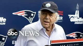 Patriots owner breaks silence amid massage parlor scandal - ABCNEWS