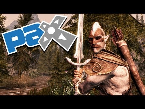 The Elder Scrolls V: SKYRIM Exclusive PAX Interview with Lead Artist Matt Carofano