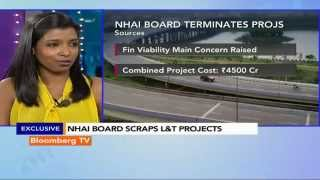 Market Pulse: NHAI Board Scraps L&T Projects - BLOOMBERGUTV