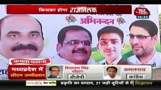 Madhya Pradesh में नतीजों से पहली ही शुरू हुआ Congress का जश्न ! - AAJTAKTV