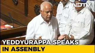 BS Yeddyurappa Quits As Karnataka Chief Minister Just Before Trust Vote - NDTV