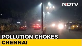 Alarming Rise In Chennai's Air Pollution Levels On Deepavali Night - NDTV