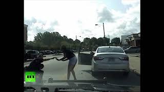 Dashcam: US police officer beats black driver (DISTURBING) - RUSSIATODAY