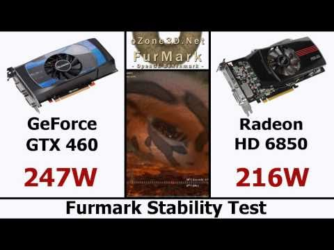 Radeon HD 6850 vs GeForce GTX 460 1GB - Full Review - Comparison (HD)