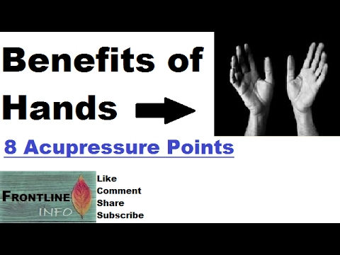 Top 8 Acupressure points for Pain Relief & Other Problems [Hindi]