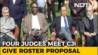 'Rebel' Judges Suggest Roster Plan In Meet With Chief Justice: Sources - NDTV