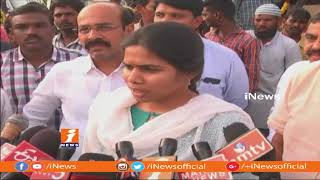 New Sweeping Machines and JCBs Allot To Kurnool Under Swachh Andhra | Akhila Priya | iNews - INEWS