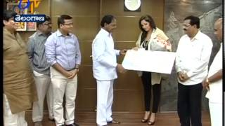 Sania Gets Another One Crore  From Telangana CM KCR - ETV2INDIA