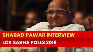 NCP Chief Sharad Pawar Interview on PM Narendra Modi, Sadhvi Pragya Thakur, Lok Sabha Election 2019 - NEWSXLIVE
