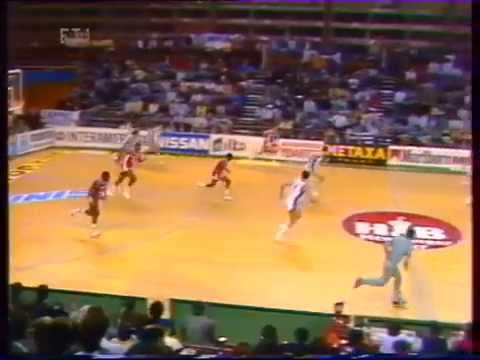QUALIFYING FOR EUROBASKET '89:ENGLAND-HELLAS 76-84 (GAME 4)