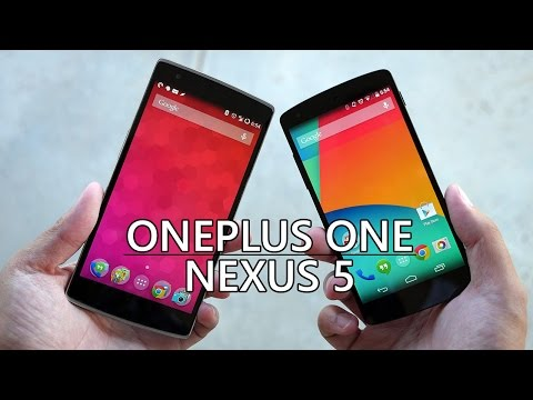 OnePlus One vs Nexus 5