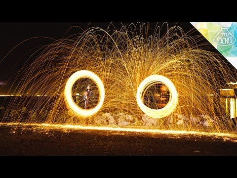 Steel Wool Sparklers - Hard Science
