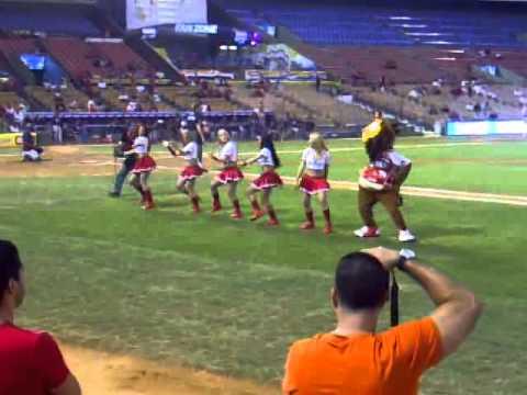 bailarias del escogido 20011-2012
