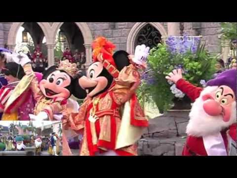 2012 Disneyland Paris 20th Anniversary Fantasyland Celebrates!! April 12th