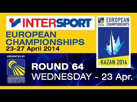 R64 - WS - Ella Diehl vs Karin Schnaase - 2014 INTERSPORT European Championships