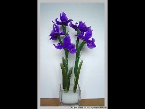 Play - Мастер-класс цветы из капрона (flowers from kapron)
