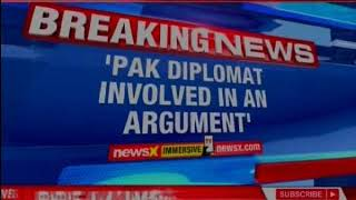 Pak diplomat involved in an argument with a lady in a Delhi market: MEA Sources - NEWSXLIVE