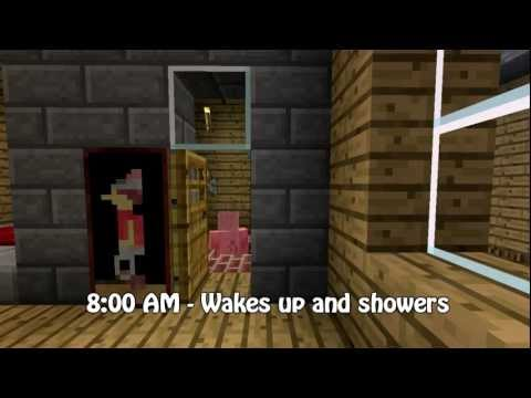 Minecraft - Average day of a pig
