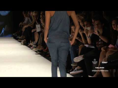 TUBA ERGIN  MERCEDES BENZ FASHION WEEK ISTANBUL RUNWAY VIDEO