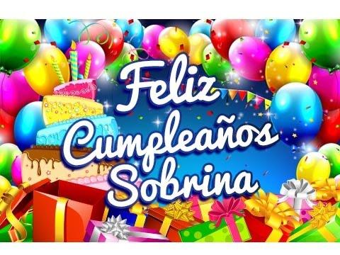 Feliz Cumpleaños Sobrina – Tarjetas para un Cumpleaños Gratis