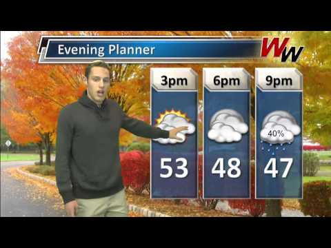 Wednesday, December 4th Afternoon Forecast