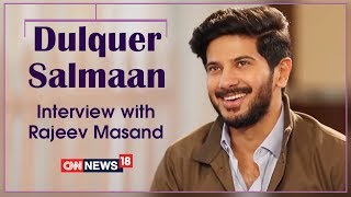 Dulquer Salmaan Interview with Rajeev Masand | Ustad Hotel | CNN News18 - IBNLIVE