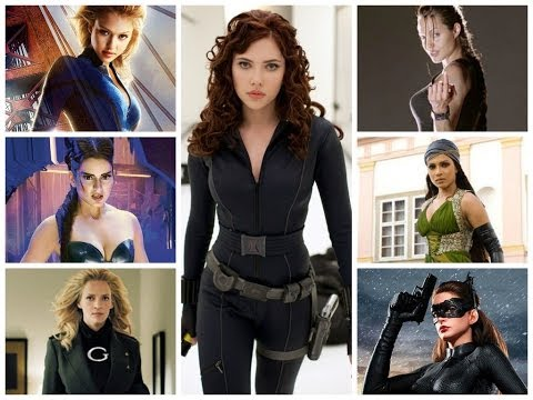 The Top 10 Super Heroines In Bollywood And Hollywood Movies!