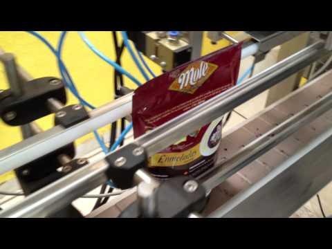 maquina llenadora pouch automática