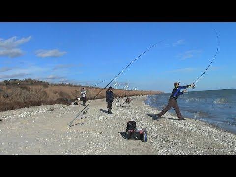 ловля на спиннинг на азовском море