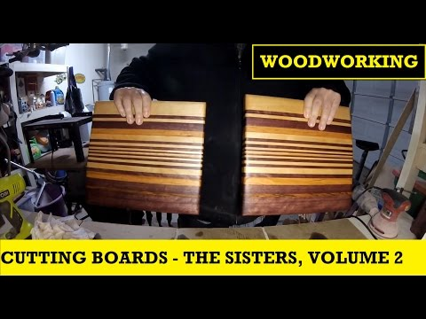 Cutting Boards - The Sisters, Version 2