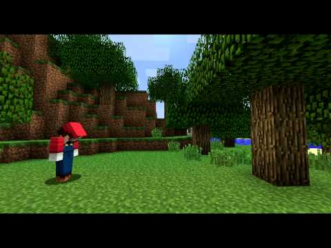 If Video Games Were In Minecraft