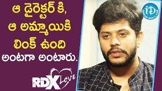 All Don't Like Those Kind Of Talks - Actor Tejus Kancherla || Talking Movies With iDream - IDREAMMOVIES